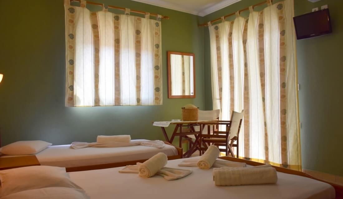 villa-maria-sarti-hotel-room-comfort-beds-apartments-studios-chalkidiki